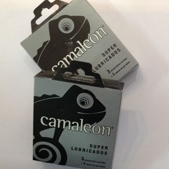 preservativos camaleon
