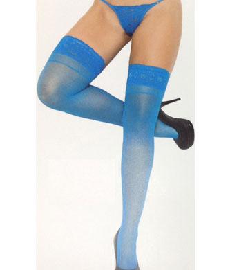 pantys lycra con siliconas azules